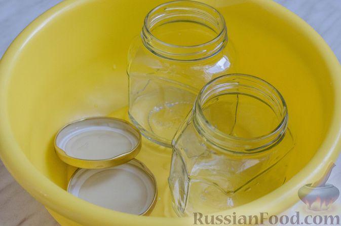 Фото приготовления рецепта: Грушево-яблочное варенье с пряностями (на зиму) - шаг №7