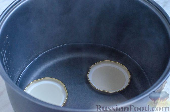 Фото приготовления рецепта: Грушево-яблочное варенье с пряностями (на зиму) - шаг №8