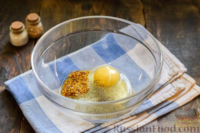 Фото приготовления рецепта: Творожно-сырные маффины с помидорками черри - шаг №2