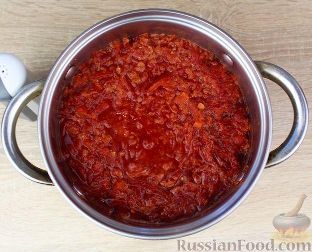 Фото приготовления рецепта: Суп-пюре из свёклы и чечевицы - шаг №10