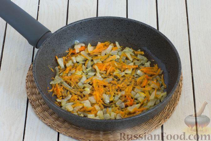 Фото приготовления рецепта: Постный борщ с чечевицей - шаг №5