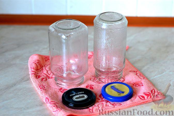 Фото приготовления рецепта: Яблочно-тыквенный джем с апельсином и корицей - шаг №4