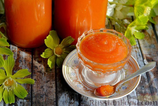 Фото приготовления рецепта: Яблочно-тыквенный джем с апельсином и корицей - шаг №16