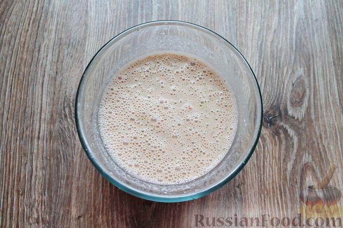 Фото приготовления рецепта: Овощной смузи с репчатым луком и чесноком - шаг №8