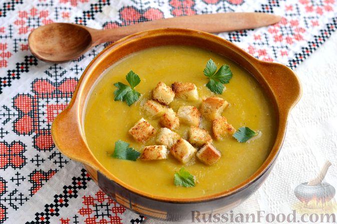 Фото к рецепту: Капустный суп-пюре