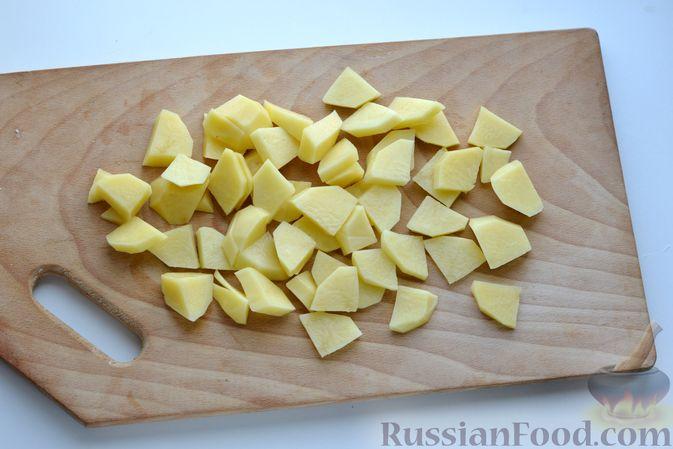 Фото приготовления рецепта: Капустный суп-пюре - шаг №6