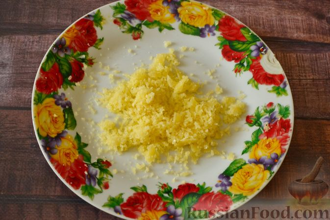 Фото приготовления рецепта: Тыквенный суп-пюре с куриным филе - шаг №11