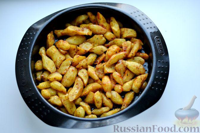 Фото приготовления рецепта: Топинамбур, запечённый с пряностями (в духовке) - шаг №6