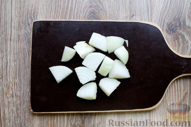 Фото приготовления рецепта: Котлеты из говядины с тыквой, запечённые в духовке - шаг №5