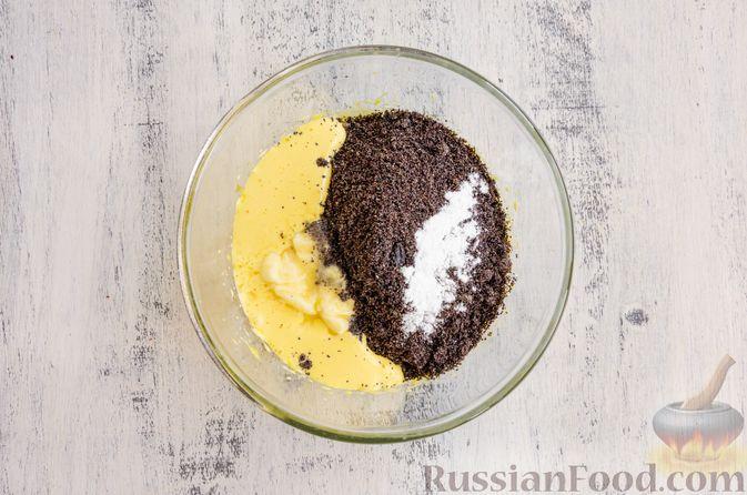 Фото приготовления рецепта: Маковый пирог (без муки) - шаг №5