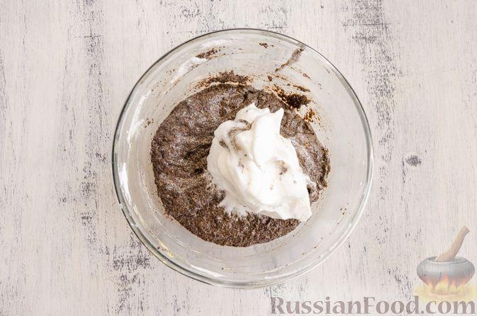 Фото приготовления рецепта: Маковый пирог (без муки) - шаг №7