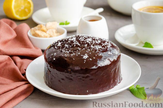 Фото приготовления рецепта: Маковый пирог (без муки) - шаг №16