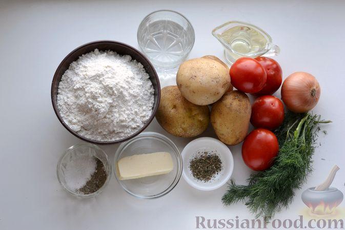 Фото приготовления рецепта: Вареники с картошкой, в томатном соусе - шаг №1