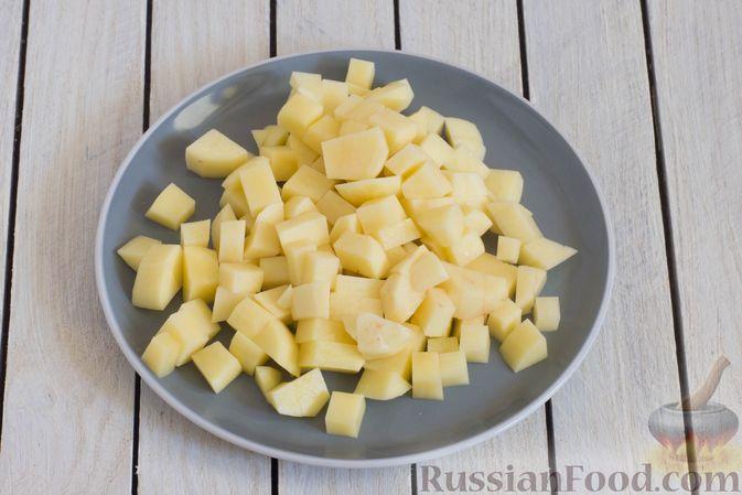 Фото приготовления рецепта: Щи с булгуром и овощами - шаг №5