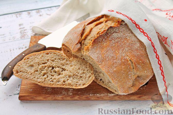 Фото к рецепту: Пшенично-ржаной хлеб