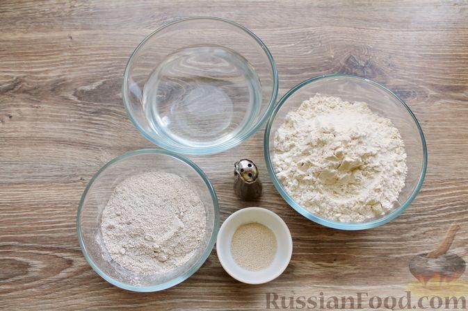 Фото приготовления рецепта: Пшенично-ржаной хлеб - шаг №1