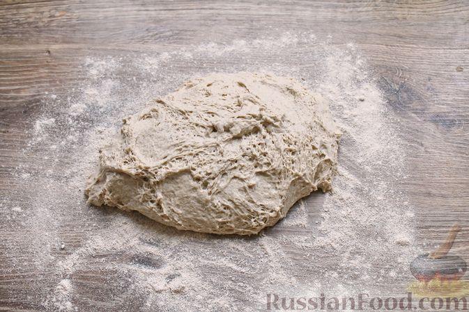 Фото приготовления рецепта: Пшенично-ржаной хлеб - шаг №7