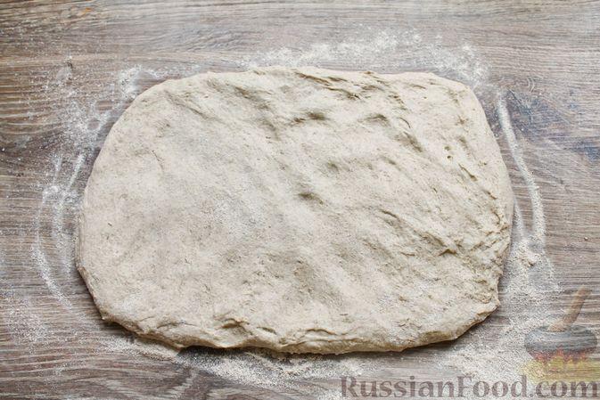 Фото приготовления рецепта: Пшенично-ржаной хлеб - шаг №8