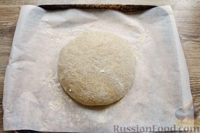 Фото приготовления рецепта: Пшенично-ржаной хлеб - шаг №15
