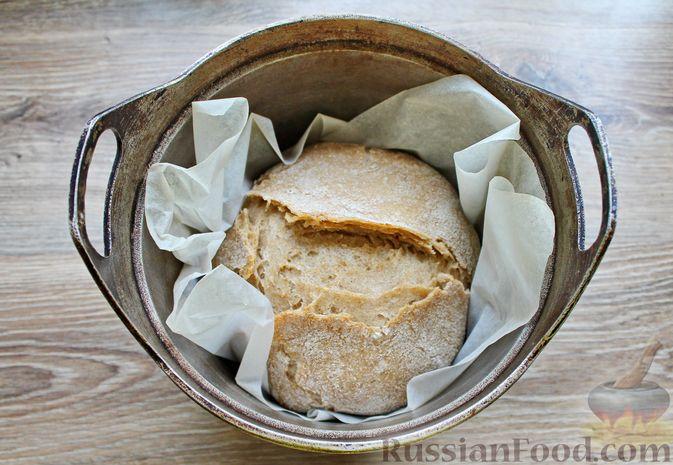 Фото приготовления рецепта: Пшенично-ржаной хлеб - шаг №17