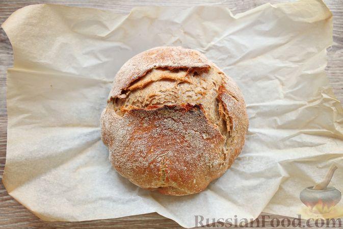 Фото приготовления рецепта: Пшенично-ржаной хлеб - шаг №18
