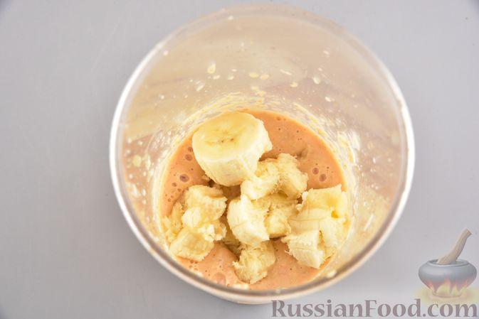 Фото приготовления рецепта: Цитрусовый смузи-боул с бананом и овсяными хлопьями - шаг №6