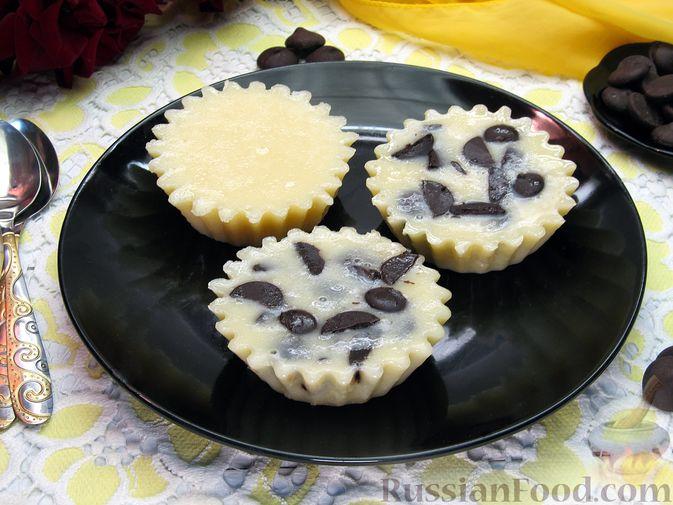 Фото приготовления рецепта: Дрожжевые пирожки-мешочки с картофелем, курицей и сыром - шаг №19