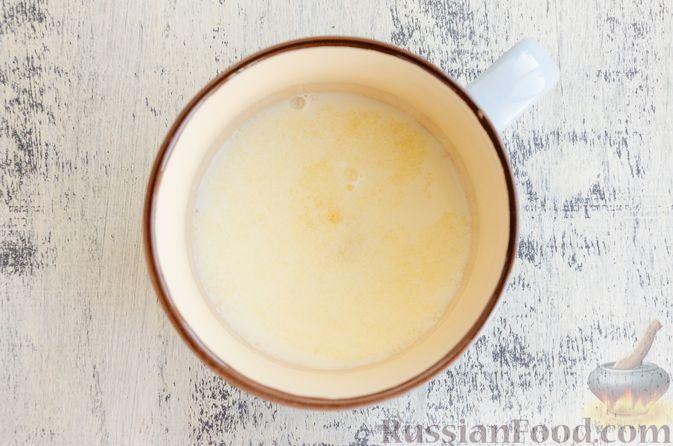 Фото приготовления рецепта: Йогуртовое желе с тыквой и яблоками - шаг №4