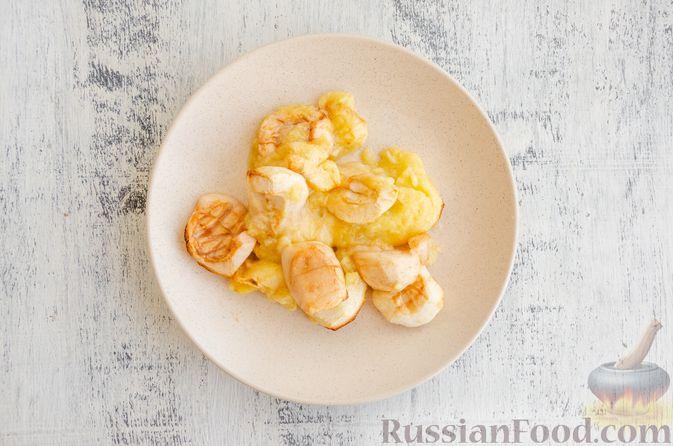 Фото приготовления рецепта: Йогуртовое желе с тыквой и яблоками - шаг №5