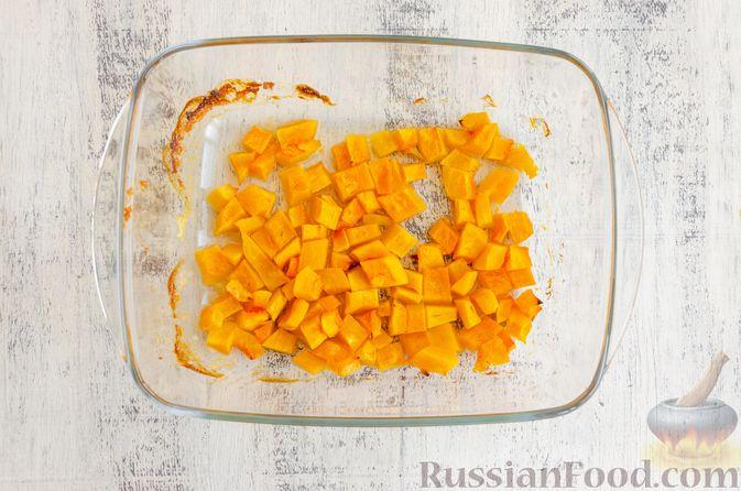 Фото приготовления рецепта: Йогуртовое желе с тыквой и яблоками - шаг №6