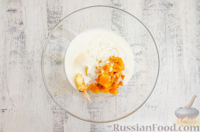 Фото приготовления рецепта: Йогуртовое желе с тыквой и яблоками - шаг №7