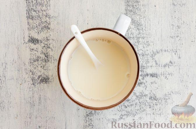 Фото приготовления рецепта: Йогуртовое желе с тыквой и яблоками - шаг №9