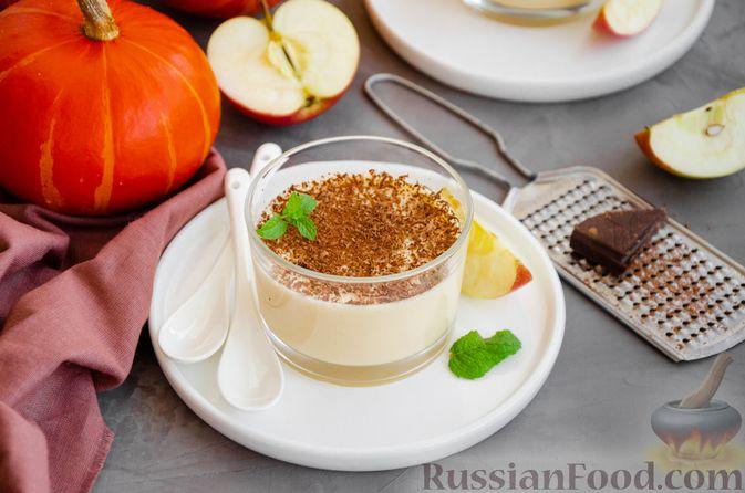 Фото приготовления рецепта: Йогуртовое желе с тыквой и яблоками - шаг №13