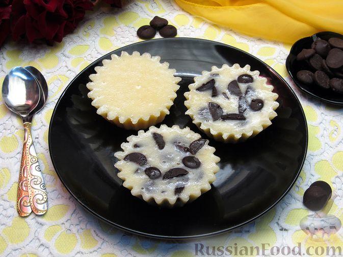 Фото приготовления рецепта: Желе из сгущёнки, с шоколадом - шаг №9