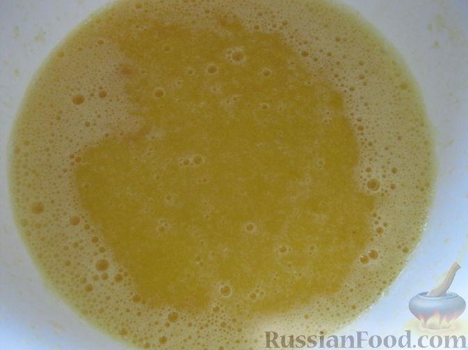 Фото приготовления рецепта: Смузи из персика и апельсина - шаг №7