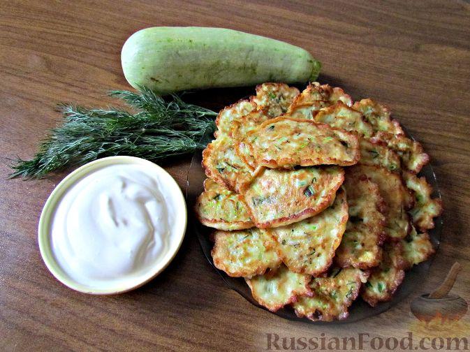 Рецепт Оладушки из кабачков