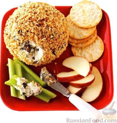 Рецепт Американская сырная закуска