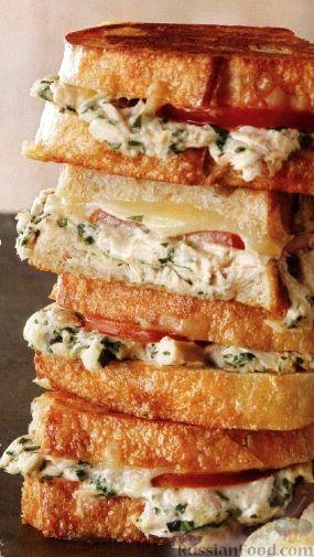 Рецепт Сэндвичи с тунцом