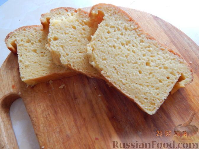 Рецепт Кукурузный хлеб на бездрожжевой закваске