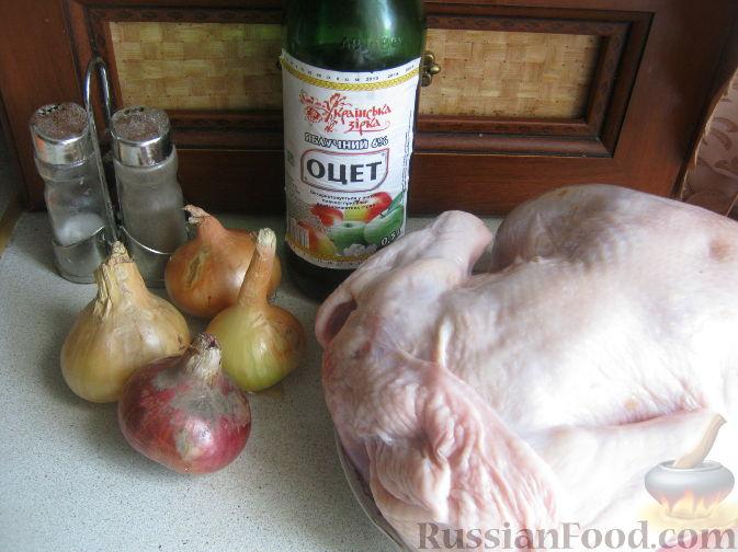 рецепт шашлыка из курицы с уксусом и приправой