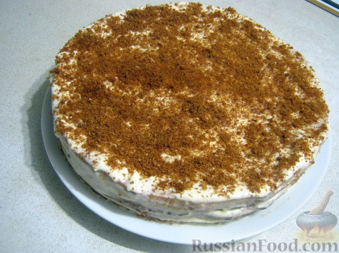 бисквитный торт с фото рецепт