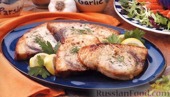 Рецепт Палтус, жаренный на гриле