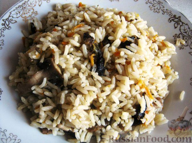 Рецепт Грибной рис
