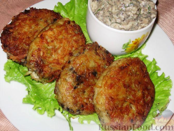 Рецепт Баклажанные котлеты в картофельной шубе