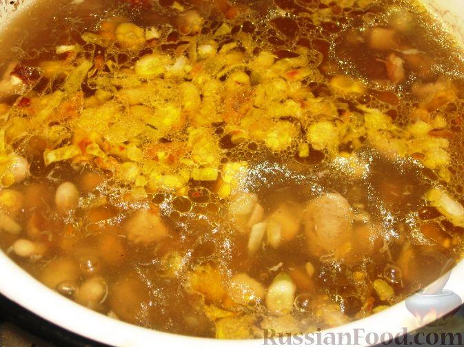 суп из замороженных бобов рецепты