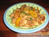 Фото к рецепту: Индюшатина на восточный лад
