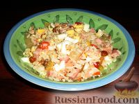 """Фото к рецепту: Рисовый салат """"Летний"""""""
