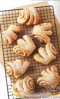 Фото к рецепту: Сладкие ушки с ореховой начинкой