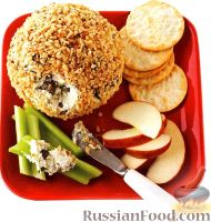 Фото к рецепту: Американская сырная закуска