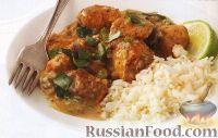 Фото к рецепту: Куриное филе в кокосовом соусе